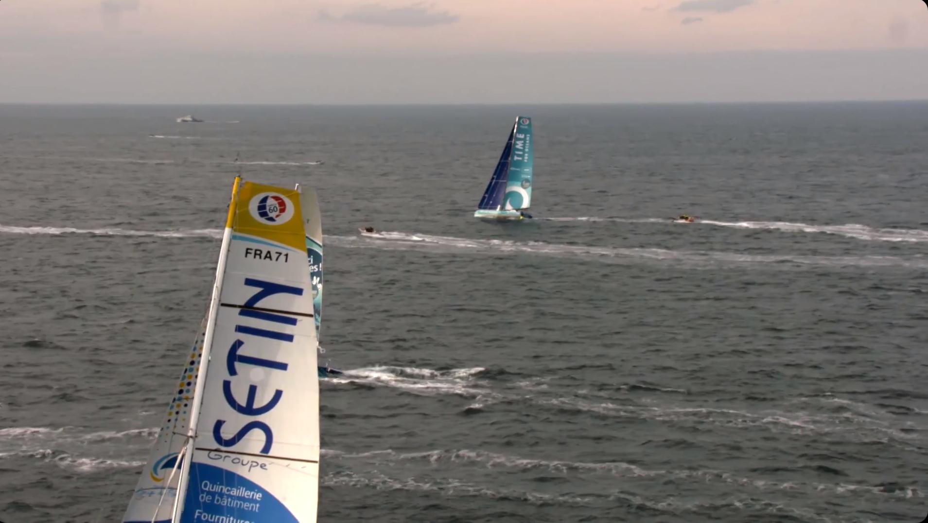 Time For Oceans - Stéphane Le Diraison - Route Du Rhum 2018