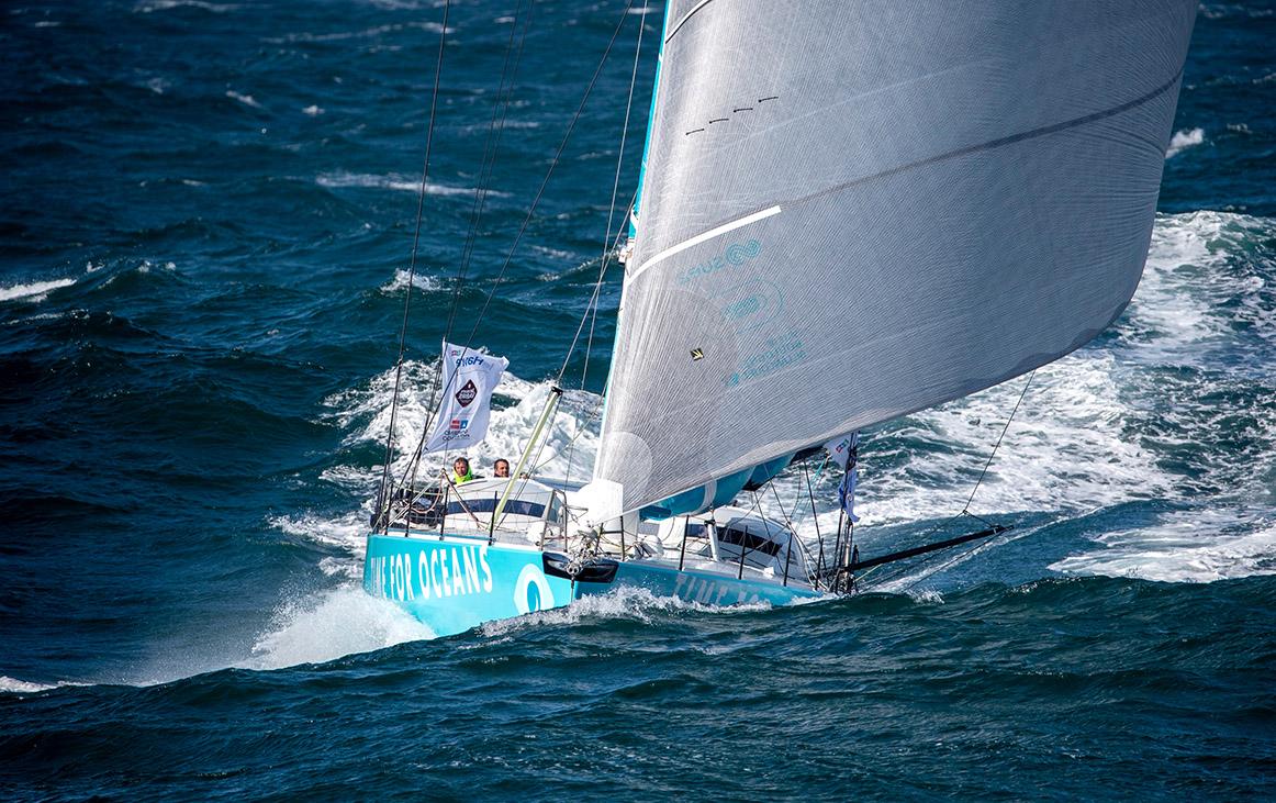 Time For Oceans, la nouvelle campagne IMOCA de Stéphane Le Diraison pour la protection et la préservation des océans prend de l'ampleur.