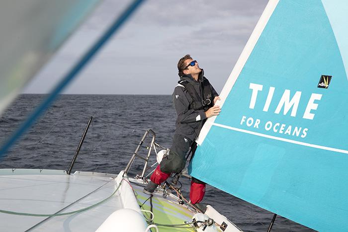 Time For Oceans, la nouvelle campagne IMOCA de Stéphane Le Diraison pour la protection et la préservation des océans.
