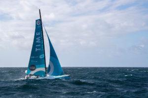 Le chantier éco-responsable de l'IMOCA Time For Oceans de Stéphane Le Diraison : gagner en performance avec le moins d'impact environnemental.