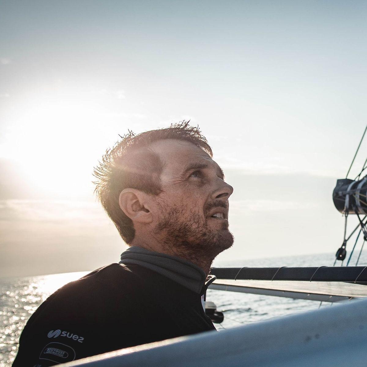 Fin du Défi Azimut pour Time For Oceans, dernier préparatif de Stéphane Le Diraison avant la Transat Jacques Vabre.